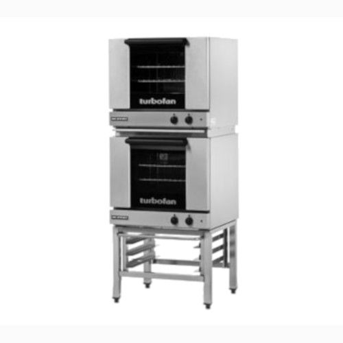 Moffat E23M3/2 Double Stacked Electric TurboFan Convection Oven