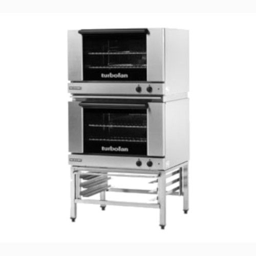 Moffat E27M2/2 Double Stacked Electric TurboFan Convection Oven