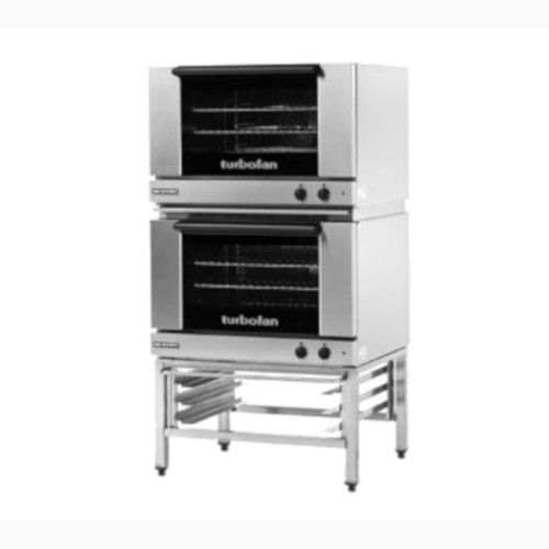 Moffat E27M3/2 Double Stacked Electric TurboFan Convection Oven