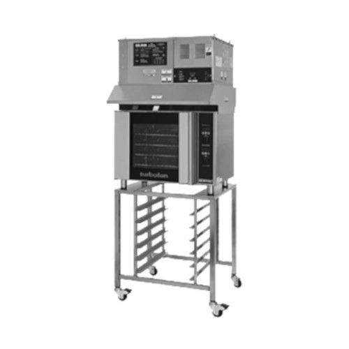 Moffat E31D4/OVH-31D Electric TurboFan Convection Oven with Hood and SK2731U Stand