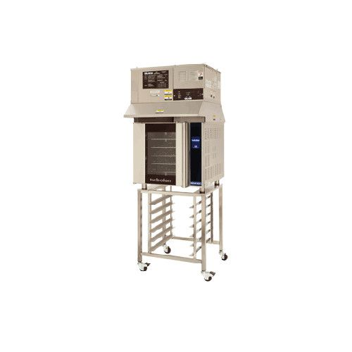 Moffat E32T5/OVH32/SK32 Electric Turbofan Convection Oven with Ventless Hood and Stand