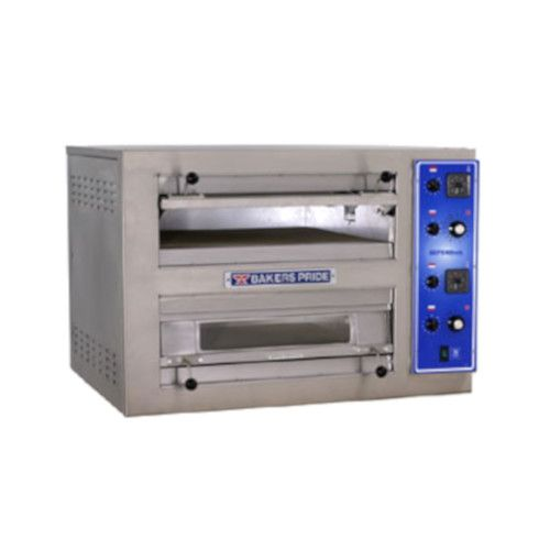 Bakers Pride EB-2-2828 Double Deck Countertop Electric Pizza Deck Oven