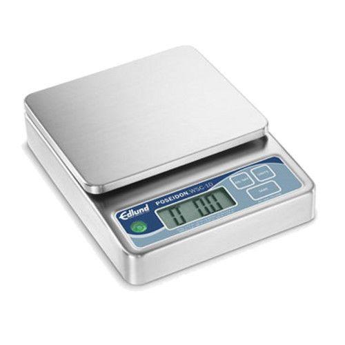 Edlund WSC-20 20 lb Digital Portion Poseidon Scale With Six Display Options