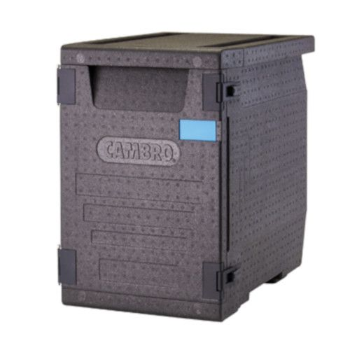 Cambro EPP400 Front Load Cam GoBox Insulated Food Pan Carrier with 90.9 Qt. Capacity
