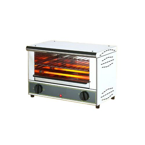Equipex Bar-100 Single Shelf Open-Style Toaster Oven