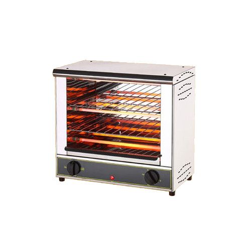 Equipex BAR-200/1 Double Shelf Open-Style Toaster Oven