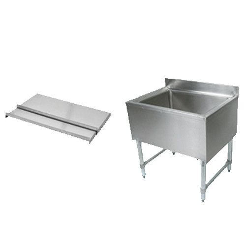 John Boos EUBIB-12-2421 Underbar Ice Bin / Cocktail Unit