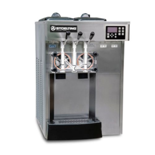 Stoelting F131X-302I2-GP Countertop Air Cooled Soft-Serve Freezer with Air Plenum Kit Installed