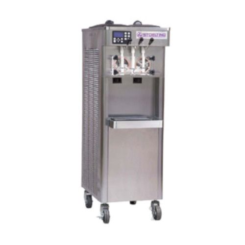 Stoelting F231X-302I2P Air Cooled Soft-Serve Freezer with Air Plenum Kit Installed