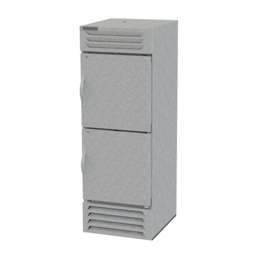 Beverage Air FB23-1HS Half Solid Single Section Reach-In Freezer
