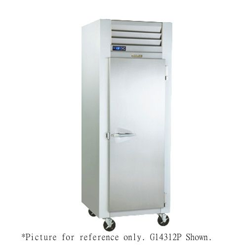 Traulsen G14302P Pass-Thru Dealer's Choice Heated Holding Cabinet- Right Hinged