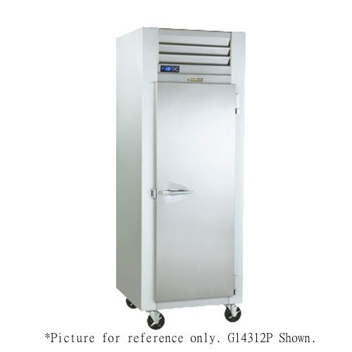 Traulsen G14304P Pass-Thru Dealer's Choice Heated Holding Cabinet- Left Hinged
