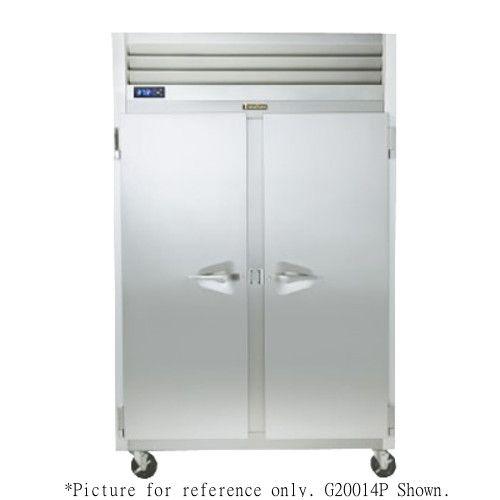 Traulsen G20006P 2 Section Half Door Pass-Thru Refrigerator- Hinged Right/Left