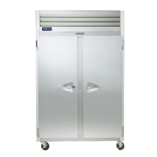 Traulsen G20044-032 2 Section 1/2 Door Pass-Thru Refrigerator- Hinged Left/Right