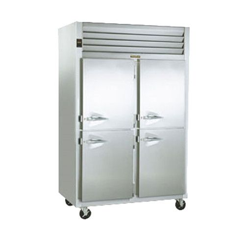 Traulsen G20047-032 2 Section 1/2 Door Pass-Thru Refrigerator Hinged Right/Right