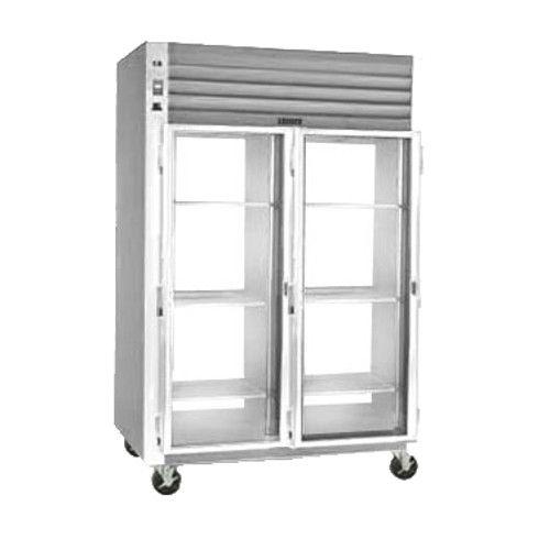 Traulsen G21055-032 Glass Door Pass-Thru Refrigerator- Hinged Left/Left