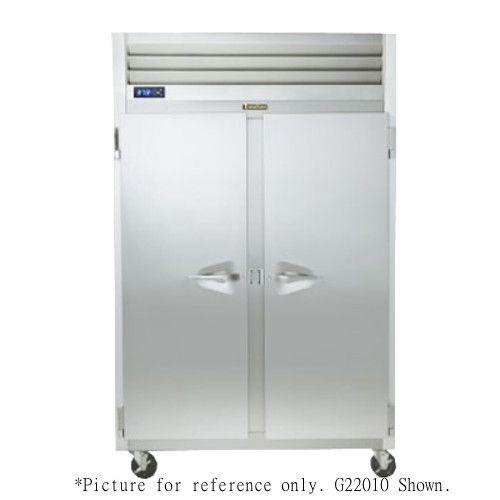Traulsen G22013 2 Section Solid Door Reach-In Freezer- Hinged Left/Left