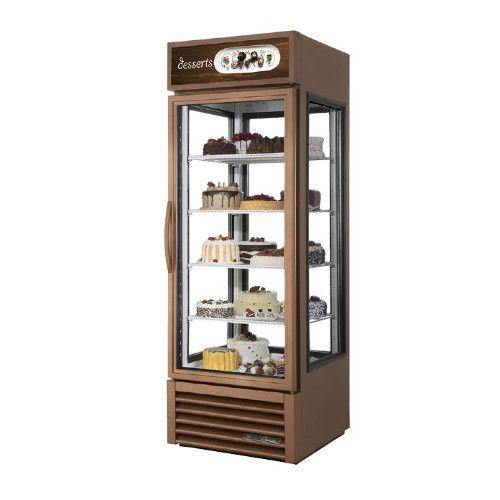 True G4SM-23-HC~TSL01 Four Sided Swing Door Merchandiser Refrigerator