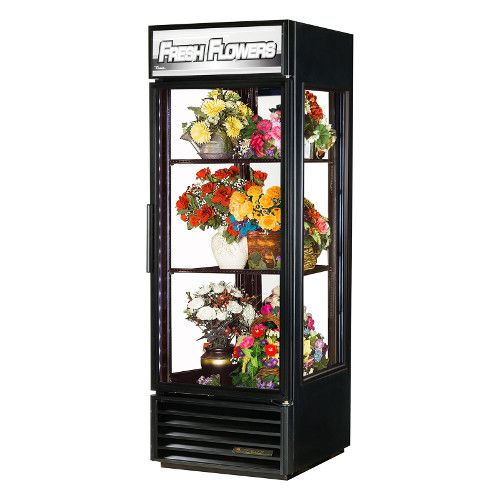 True G4SM-23FC-HC~TSL01 Single Section Floral Merchandiser