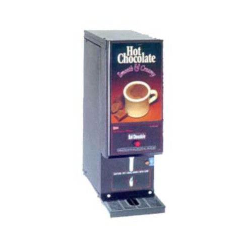 Grindmaster-Cecilware GB1HC-CP Electric Low Volume GB Powdered Hot Chocolate Dispenser