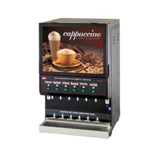 Grindmaster-Cecilware GB6M10-LD-U High Volume GB Hot Powder Cappuccino Dispenser