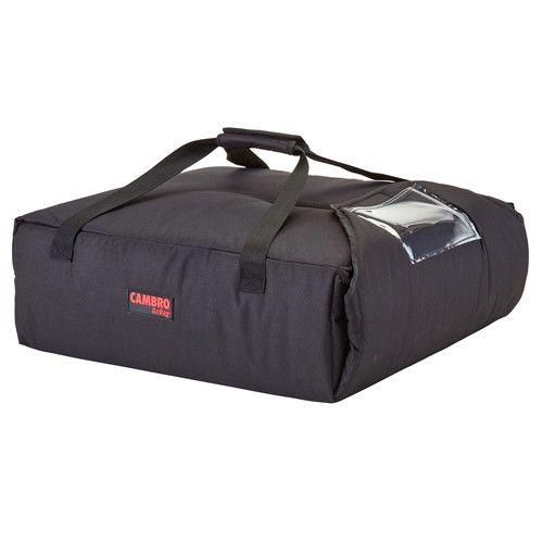 Cambro GBP220110 Black Pizza Delivery Bag - (2) 20