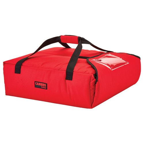 Cambro GBP220521 Red Pizza Delivery Bag - (2) 20