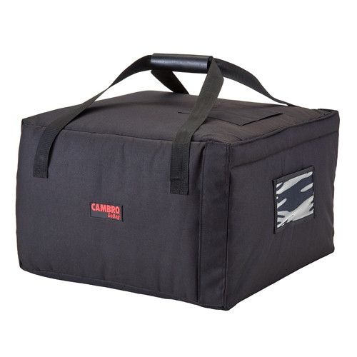 Cambro GBP518110 Black Pizza Delivery Bag - (5) 18