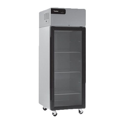 Delfield GBR1P-G Coolscapes Series Reach-In Single-Section Glass Door Refrigerator