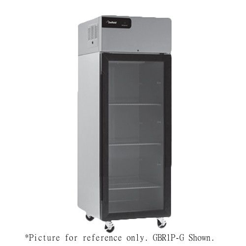 Delfield GBR2P-G Two-Section Coolscapes Reach-In Refrigerator - 46.0 Cu. Ft.