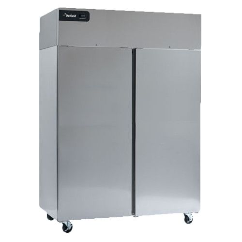 Delfield GBF2P-S Coolscapes Series Reach-In Two-Section Solid Door Freezer