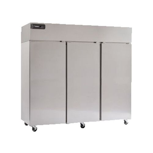 Delfield GBF3P-S Coolscapes Series Reach-In Three-Section Solid Door Freezer