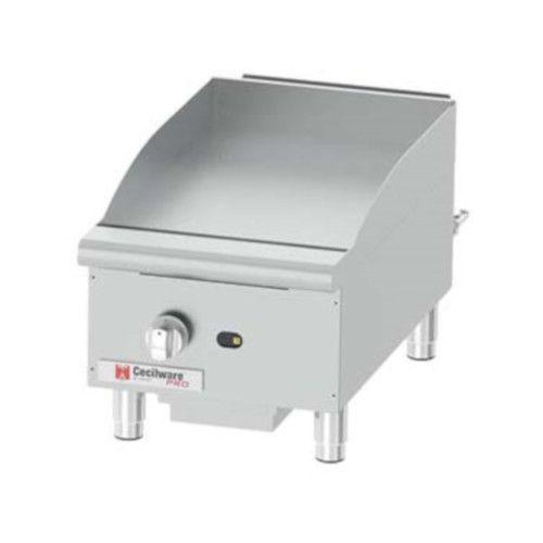 Grindmaster-Cecilware GCP15 Countertop Gas Pro Griddle - 30,000 BTU