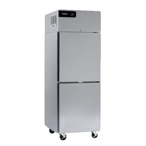 Delfield GCR1P-SH Coolscapes Series Half-Solid Door Reach-In Single-Section Refrigerator