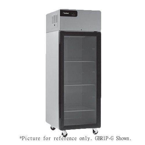 Delfield GCR2P-G Coolscapes Series Reach-In Two-Section Glass Door Refrigerator