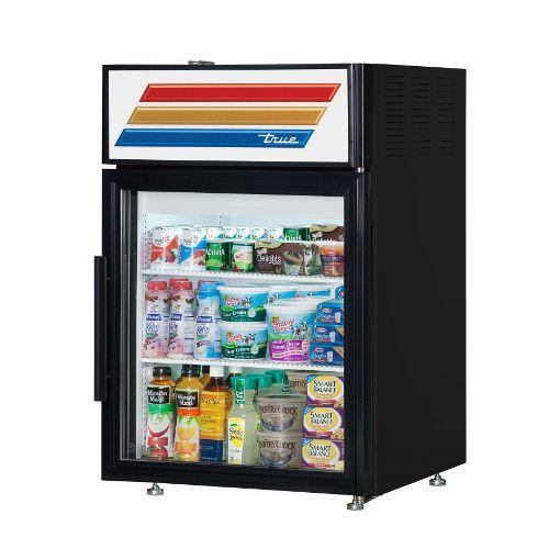 True GDM-05-HC-LD Countertop Refrigerated Merchandiser