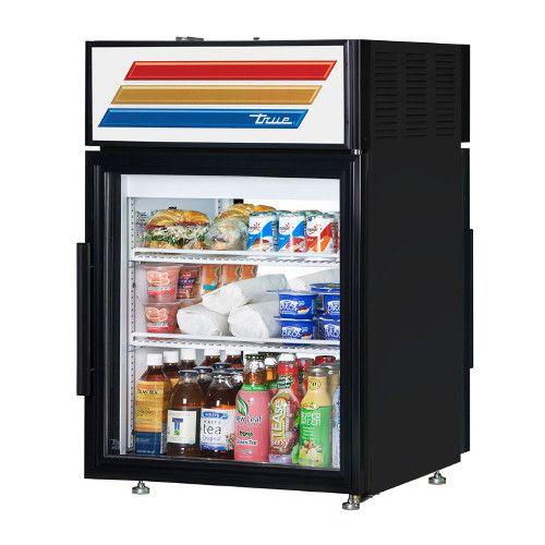 True GDM-05PT-HC-LD Countertop Pass-Thru Refrigerated Merchandiser