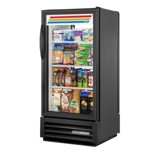 True GDM-10PT-HC~TSL01 Single Section Pass-Thru Refrigerated Merchandiser