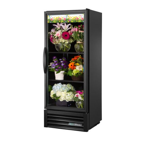 True GDM-12FC-HC~TSL01 Single Section Floral Merchandiser