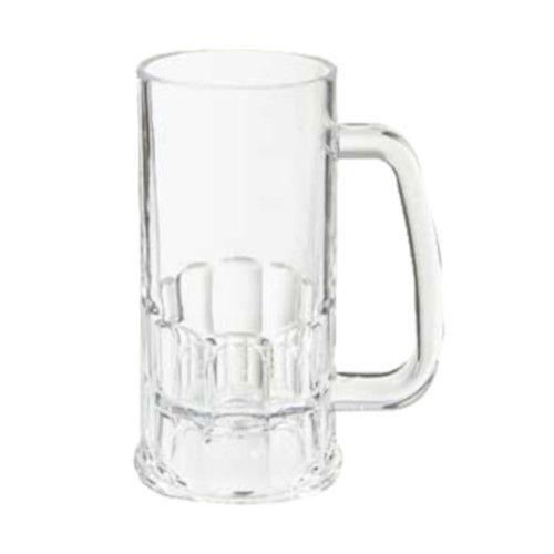 GET 00084-1-SAN-CL 12 oz. Plastic Beer Mug (1 case of 2 dozen)