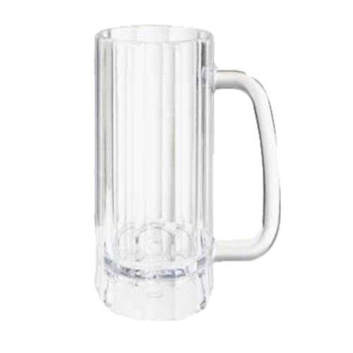 GET 00086-1-SAN-CL 12 oz. Plastic Beer Mug (1 case of 2 dozen)
