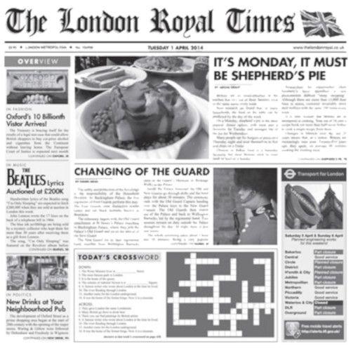 GET 4-TN1000 Food-Safe 12X12 London Newspaper Liner