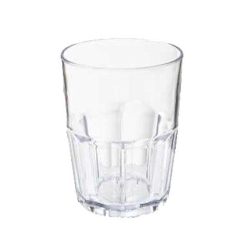 GET 9912-1-CL Bahama Clear Plastic Tumbler (1 case of 6 dozen)