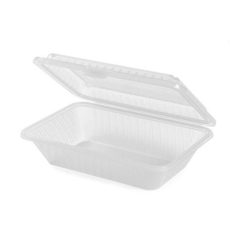 GET EC-11-1-CL Eco-Takeouts™ 9X6.5 To Go Food Containers (1 dozen)