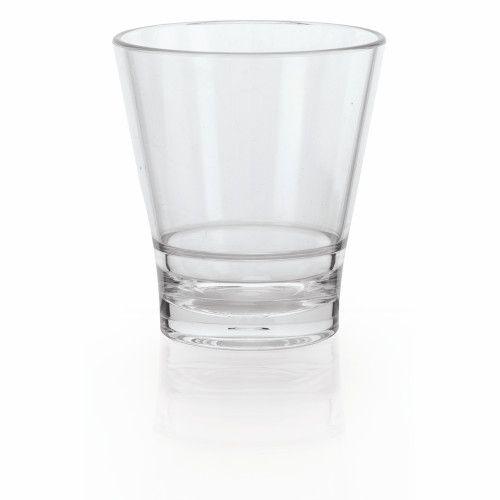 GET S-9-CL 9 oz. Revo Rocks Glass (1 case of 2 dozen)