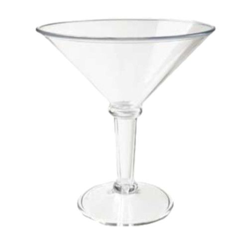 GET SW-1419-1-SAN-CL 48 oz. Super Martini Glass (3 per case)