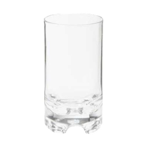 GET SW-1424-1-SAN-CL Roc N' Roll™ Rocks 12 oz. Glass (1 case of 2 dozen)