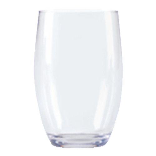 GET SW-1461-CL 12 oz. Stemless Wine Glass (1 case of 2 dozen)