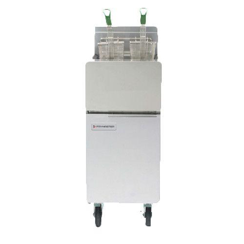 Frymaster GF14 Full Pot Gas Floor Fryer with 40 lb. Oil Capacity