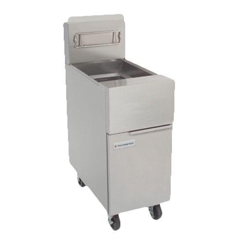 Frymaster GF40 Full Pot Gas Floor Fryer with 50 lb. Oil Capacity
